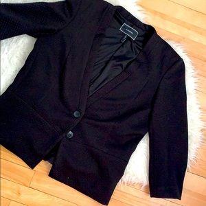 Back to Business! Le Château Black peplum jacket